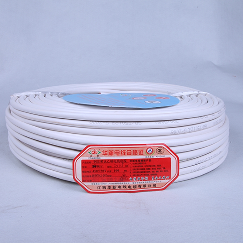 聚录乙烯软护套线-RVV